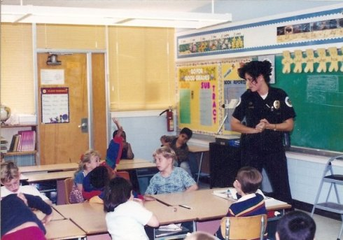 Teaching a DARE class